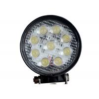 Quality Round 9 LED 12V LED Work Lights Cars 24v 4.5 Inch 27W With CREE Chips wholesale