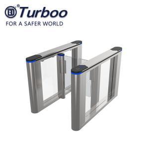 Quality SUS304 Stainless Steel Speed Gate Turnstile ,  Security RFID Reader Barrier wholesale