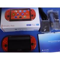 China Wholes sale New SONY PlayStation Vita Wi-Fi Console PCH-2000 ZA26 Metallic Red PS Vita sealed with complete accessories on sale