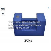 Quality Weight Measurement Equipment Rectangular Shape 20 kg Proof Load Test Bar Weight With Grip Handle wholesale