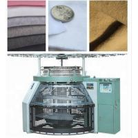 Quality Durable Single Jersey Circular Knitting Machine , High Speed Circular Pile Knitting Machine wholesale