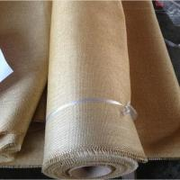 China Packing Materials Vermiculite Coated Fiberglass Cloth , 2025 High Temperature Fabric on sale