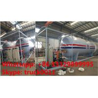 hot sale! 25tons skid lpg gas station with 5 digital weigthing scales for gas cylinders, skid lpg gas refilling plant