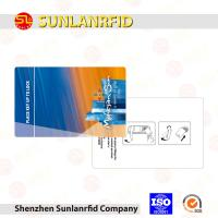 China CR80 Printed RFID Smart Card Tk4100 S50 Chip With Loco Magnetic Strip Cards on sale