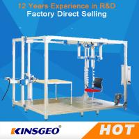 Quality 500KG Sliding Resistant Furniture Testing Machine With Steel Plate For Rolling Office Chair wholesale
