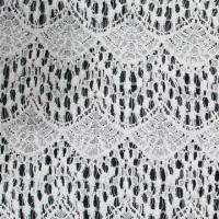 China Water-soluble Embroidered Lace Fabric in Various Designs, Made of Cotton on sale