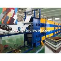 China Interior | Exterior Insulated Metal Facade Panel Making Machine For Wall Cladding Siding Panel on sale