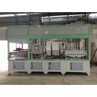 Quality Fully Automatic Paper Pulp Moulding MachineHigh Precision With Hot Pressing System wholesale