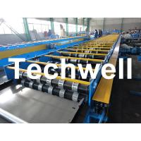 Quality Galvanized Steel Floor Deck Roll Forming Machine For Floor Decking Sheets wholesale
