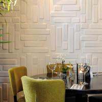 Quality Hotel Interior 3D Decorative Wall Panels wholesale