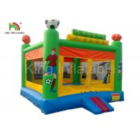 Buy cheap Green Custom Outdoor Adult Inflatable Large PVC Tarpaulin Commercial Bouncy from wholesalers