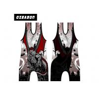 Buy cheap Customized Design High Quality Cool Cheap Wrestling Singlets , Sublimated from wholesalers