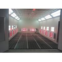 Buy cheap 6.9m Standard Auto Paint Booth Infrared Heating High Efficiency For Garage Usage product