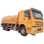 Quality Euro 2 Standard 20000 Liters Fuel Liquid Tanker Truck / SINOTRUK HOWO 6X4 Oil Tank Truck wholesale