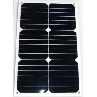 Quality competitive lower price Flexible solar panel 18w semi flexible solar panel wholesale
