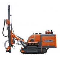 Quality 14.5Mpa Dth Drilling Equipment25m Hole Depth , ZGYX - 421T Top Hammer Drill Rig wholesale
