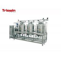 Quality Durable Small Scale Dairy Processing Line Uht Milk Processing Line 200KW wholesale