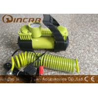 Quality Car 12v Portable Air Compressor Metal Material With 2 * 30mm Double Cylinder wholesale