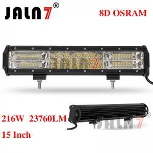 Quality 216W 23760LM OSRAM 15 INCH 8D LED LIGHT BAR JALN7 wholesale