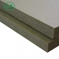 China 16mm Custom Color Acoustic Fire-Blocking Closed Cell NBR Sound Insulation Board on sale