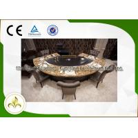 Quality Commercial Electric / Gas Teppanyaki Grill Customized With Fume Precipitator wholesale