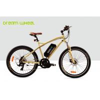 China 32Km / H Mens Mid Motor Electric Bike 36V 350W Mountain Bicycle 26 Inch Aluminum Frame on sale