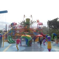 Quality Commercial Water Park Skip Bucket Water Fun Park For 200 People wholesale