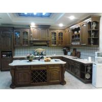Quality Oak solid wood kitchen cabinet,Arc top kitchen cabinet door,Raised kitchen cabinet door wholesale
