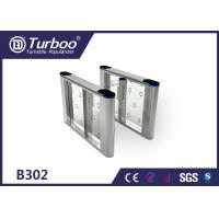 Quality 304 Stainless Steel Speed Gate Turnstile Access Control System For School wholesale