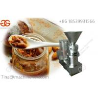 China Types of grinding machine for sale in factory price nuts butter making machine supplier on sale