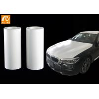 China White 3m Automotive Protective Film , PE Material Car Paint Protection Film on sale