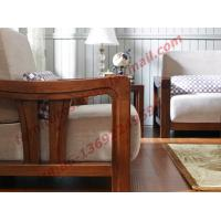 Cheap High Quality Solid Wooden Frame with Upholstery Sofa Set for sale