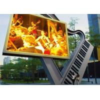 10mm P10 Advertising LED Signs , Outdoor Advertising LED Display Screen