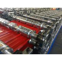 Quality Steel Sheet Double Layer Roll Forming Machine With Water Cooling System wholesale