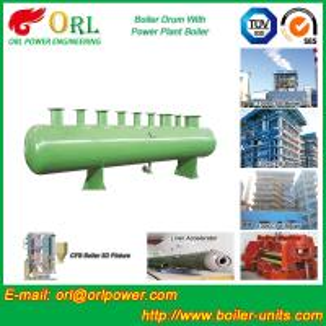 Quality Diesel Water Heat Boiler Steam Drum Thermal Insulation SGS Certification wholesale
