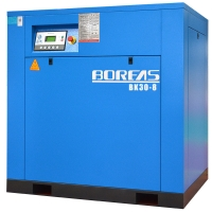 China Electric Stationary 380v 8Bar Screw Air Compressor on sale