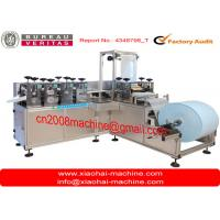 Quality Disposable Nonwoven Fabric Shoe Cover Making Machine Touch Operated wholesale