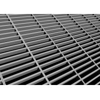 China 4'' 2'' Metal Grill Flooring , Steel Grid Flooring With Self Drilling Screw on sale