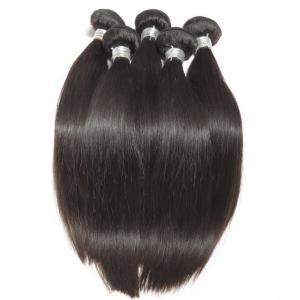 Cheap Straight Virgin Human Hair Bundles Peruvian Hair Extension Full Cuticle No Acid for sale