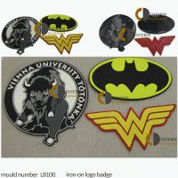Quality Bag rubber iron on patches custom made iron on patches decorative iron on patches for jeans wholesale