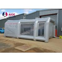 Cheap Lightweight Double Stitching Inflatable Paint Booth Portable With Ce Blower for sale
