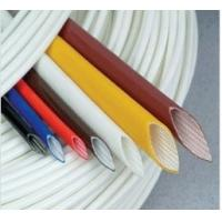 Quality Extruded Silicone rubber fiberglass sleeving wholesale