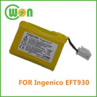 China F26401652 Replacement battery for Ingenico EFT930 Series Credit card Terminal on sale