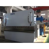 China Mild Steel Stainless Steel Aluminum Sheet Metal Press Brake / Hydraulic Metal Brake Machine on sale