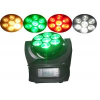 China 7 x 12w Nightclub DJ Disco LED Moving Head Light / Beam Moving Heads Lamp on sale