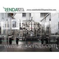 Quality Carbonated Drinks Gas Automatic Bottle Filling Machine Washing Capping for sale