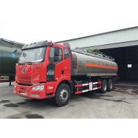 Quality FAW J6 6x4 Type 260hp~280hp 24000 Liter Fuel Tanker Truck With BF6M1013-28 Engine wholesale