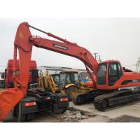 China 2015 Used Excavating Equipment Track Digger Doosan 5865mm Maximum Digging Height on sale