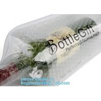 China Eco friendly wine bag,wine bottle protector,Bubble Bags Wrap Packaging Fragile Items Inflatable Wine Bottle Air Pouch Ba on sale