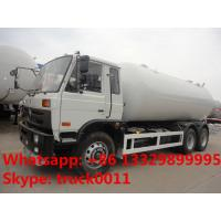China hot sale professional factory sale 6x4 dongfeng 8tons-10 tons lpg delivery truck, dongfeng 6*4 210hp lpg gas tank truck on sale